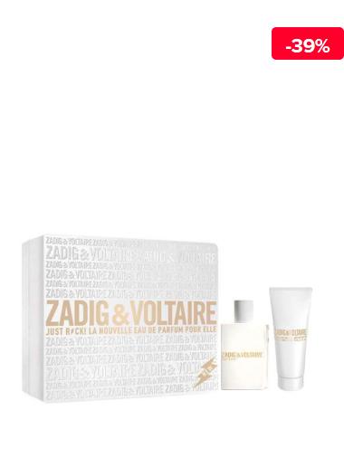 Zadig Et Voltaire Set cadou Just Rock! (Apa de parfum 50 ml + Lotiune de corp 100 ml), pentru femei