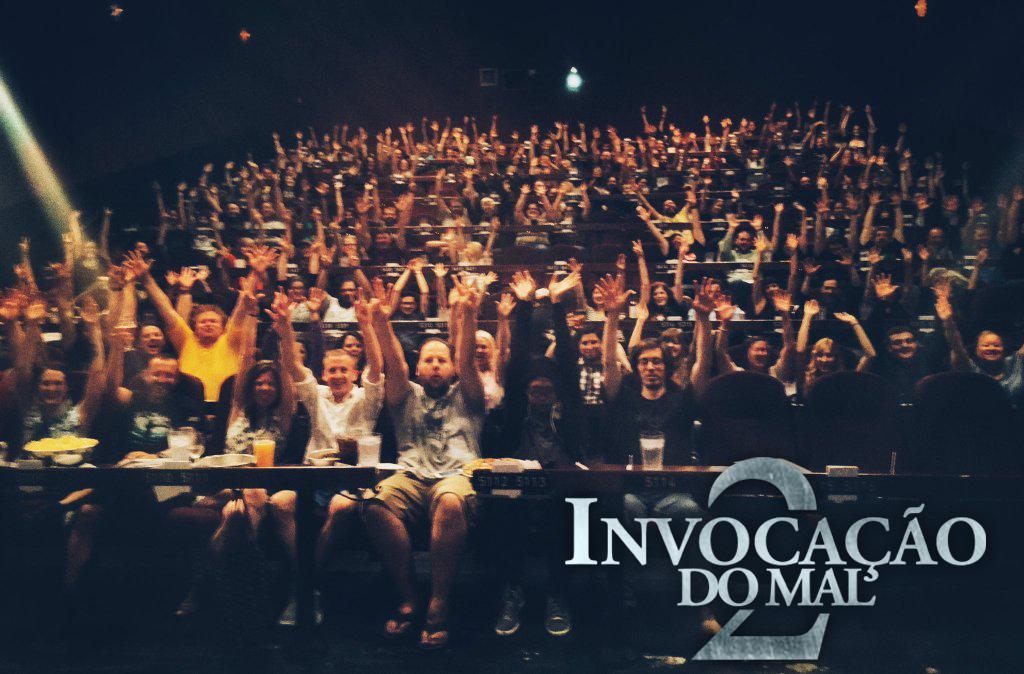 James Wan surpreende fãs com sessão exclusiva de Invocação do Mal 2