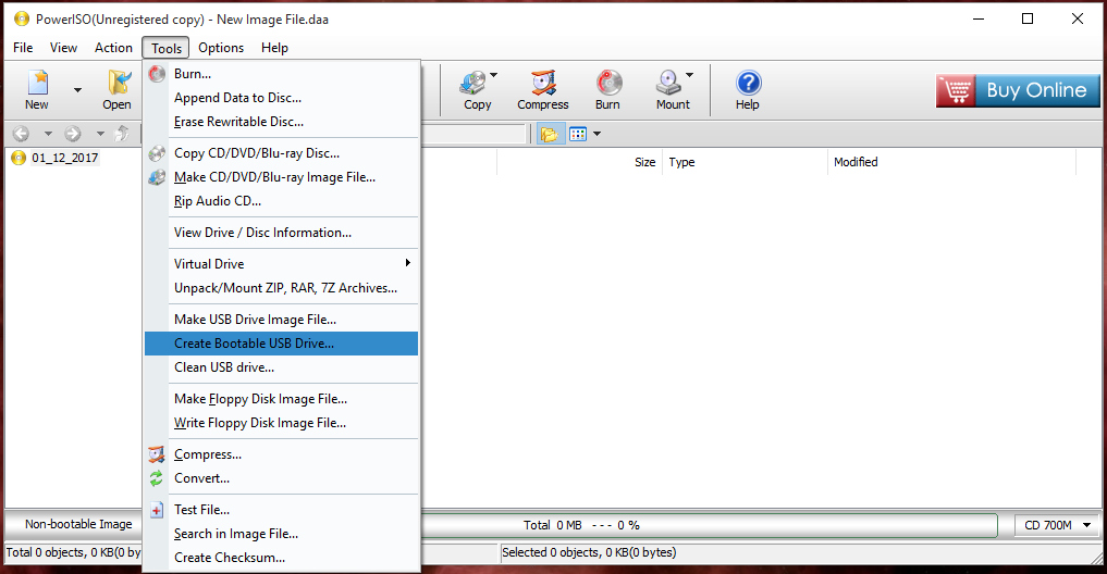 how to create a bootable pendrive for windows or linux