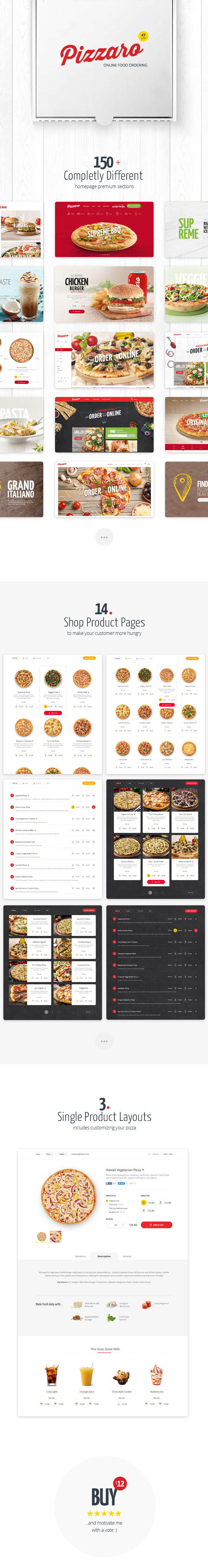Pizzaro - Food Online Ordering eCommerce