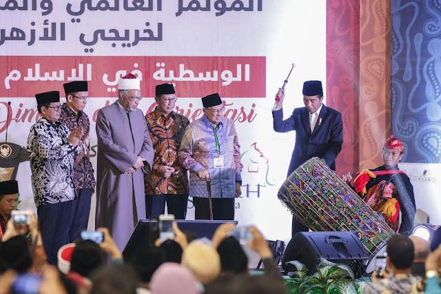Jokowi Beberkan Alasan Khusus Kedatangannya ke Konfrensi Alumni Al-Azhar