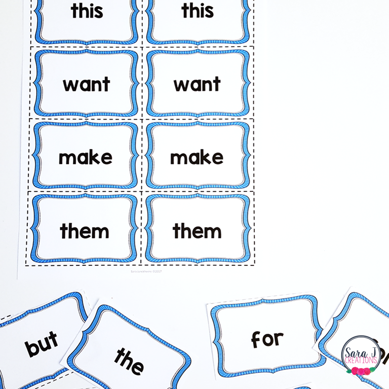 Free Printable Flash Card Template Word