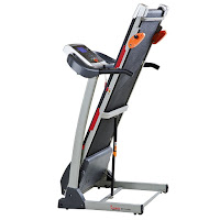 Sunny Health & Fitness SF-T4400 fold-up design with Soft-Drop system