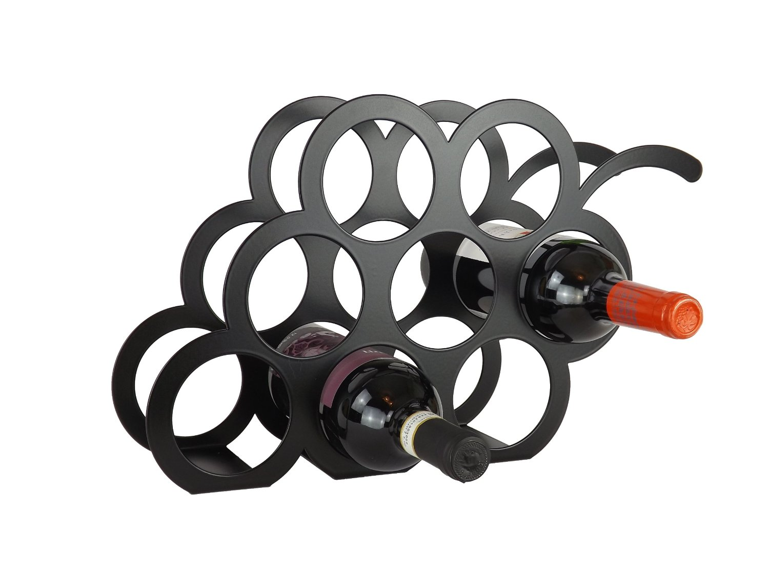 Wine Shaped Wine Rack Lovely Shaped Wine Racks From The Metal House Vinspire
