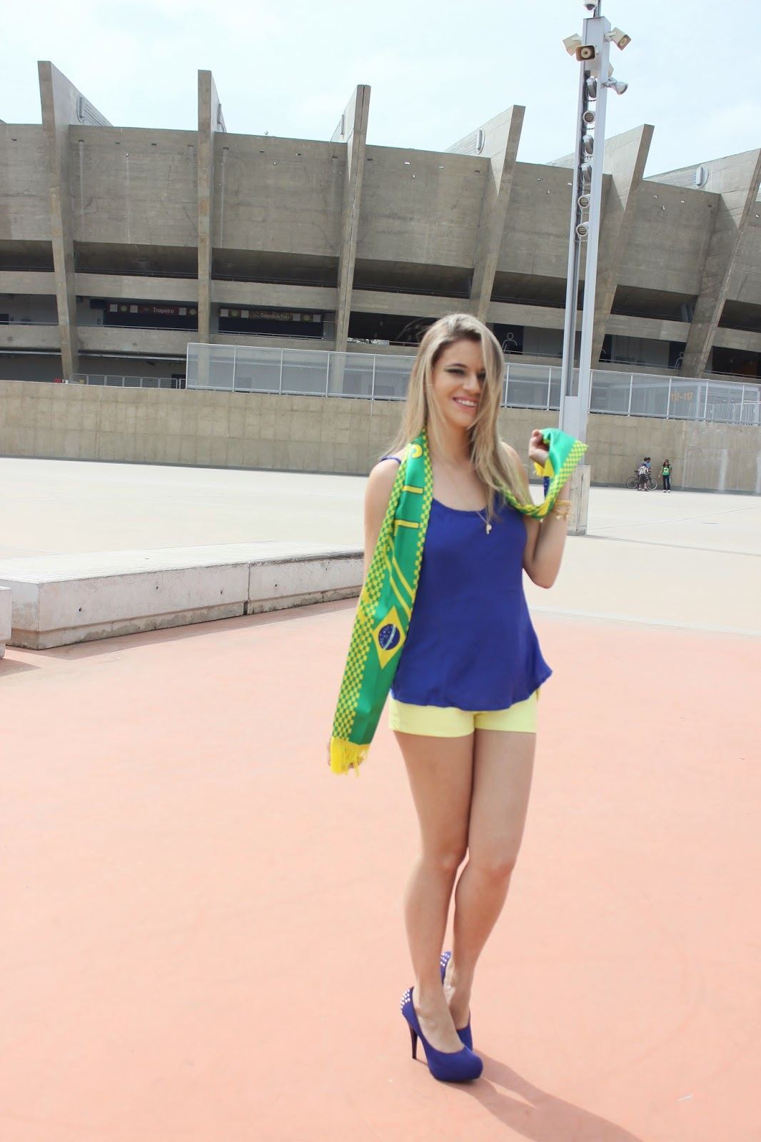 Look do dia Copa - Look do dia Brasil