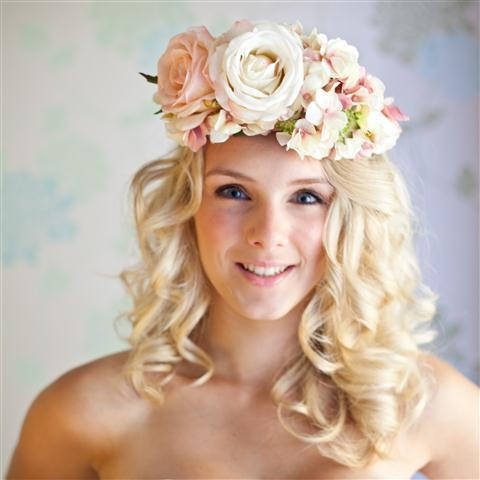 Flower Headpiece for Weddings