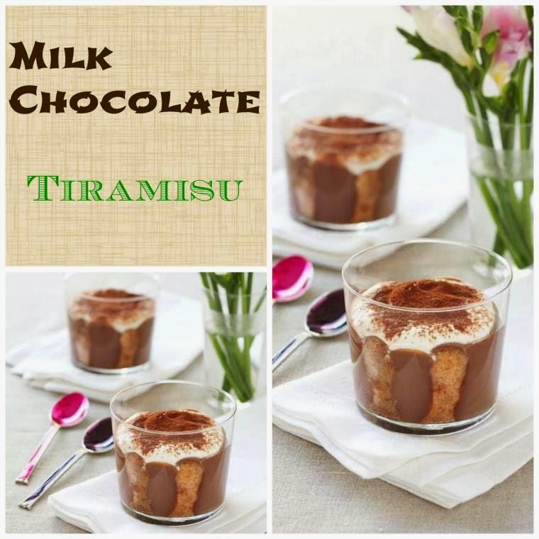 Milk Chocolate Tiramisu Dinner Party Treat