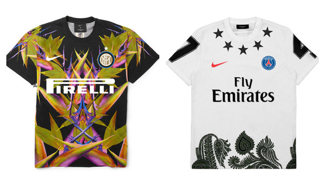 53cb505e40e9 Italian graphic artist Federico Maccapani has created football shirt designs  that are both unique and outrageous. Combining the identities of popular ...