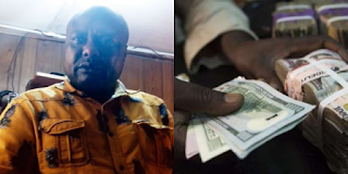 Police arrest Lagos fraudster who exchanged fake $7,000 for N3.4m