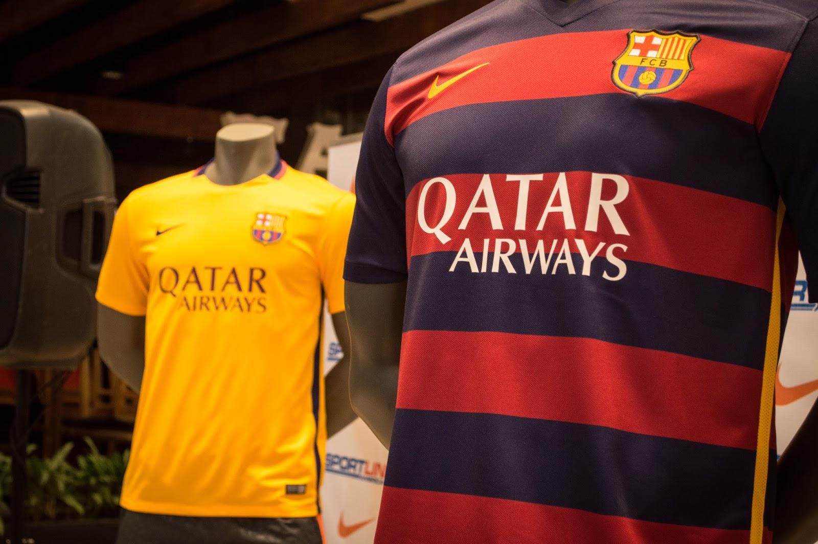 Lanzamiento oficial de la camisola del FC Barcelona temporada 2015- 2016. d32c918c624