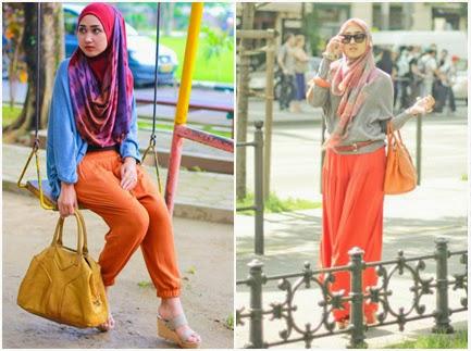 model baju hijab santai