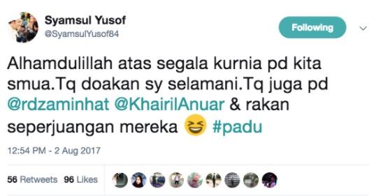 Syamsul Yusof 'Sound' Redza Minhat