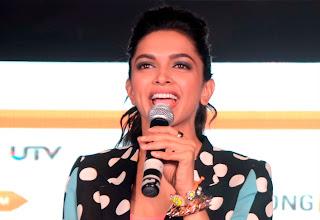 Actress Deepika Padukone showcasing collection inspired by film ``Yeh Jawaani Hai Deewani`