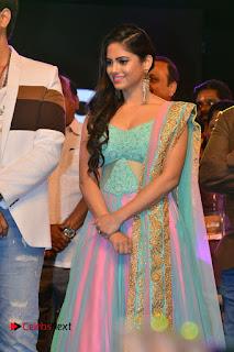 Actress Naina Ganguly Stills in Long Dress at Vangaveeti Audio Launch  0013.JPG