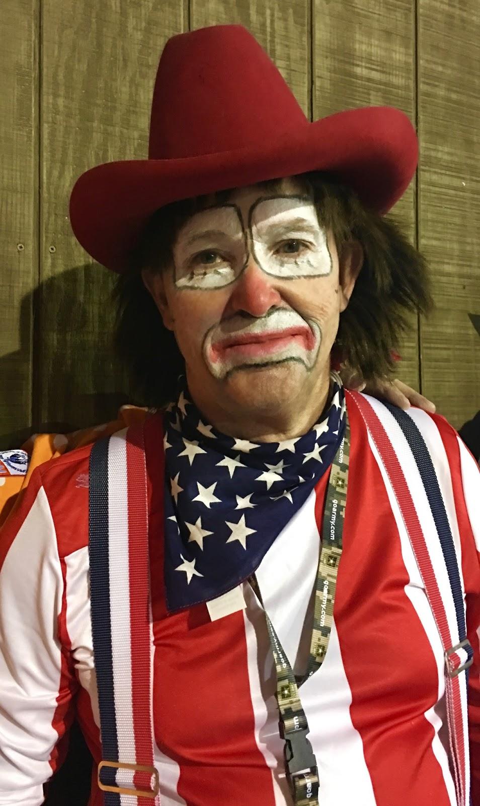 Chasing Santa Fe Rodeo Clown Portraits