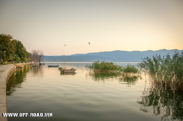 Dojran Lake, Macedonia - Sunrise scene