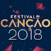 """Os 14 finalistas do """"Festival da Canção"""" 2018 são..."""