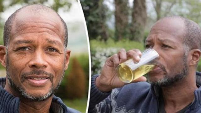 هذا الرجل شرب بوله لمدة 6 سنوات.. وهذا ما حدث له يشرب البول دون أي إضافات وهكذا بدأ الأمر