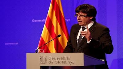 رئيس إقليم كاتالونيا، كارلس بيجديمونت