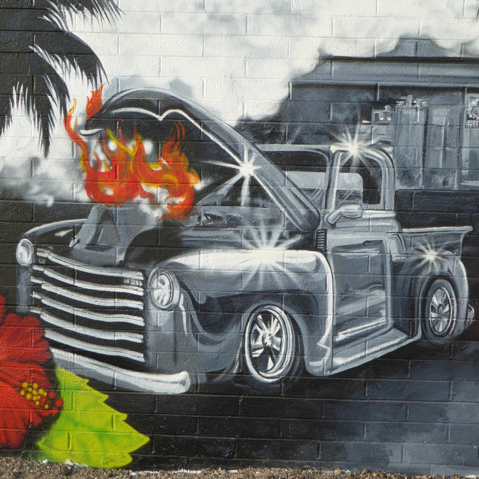 Amigos Tire Shop >> The Tucson Murals Project