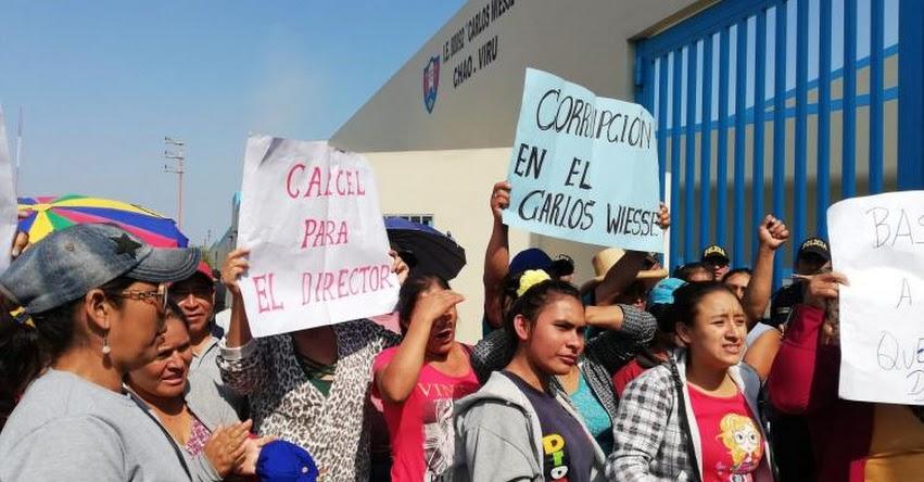 Denuncian presunto caso de violación en colegio de distrito de Chao en La Libertad