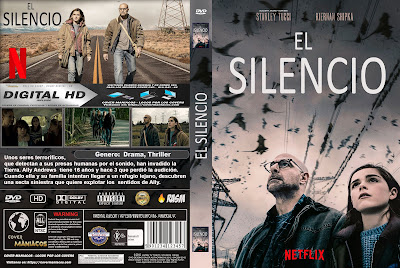 CARATULA EL SILENCIO - THE SILENCE -2019 [COVER DVD]