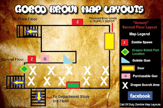 Armory Gorod Krovi Zombies Map Layout Call Of Duty Black Ops 3