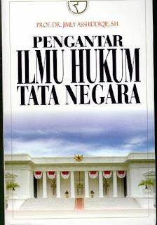 Download Buku Pengantar Ilmu Hukum Tata Negara