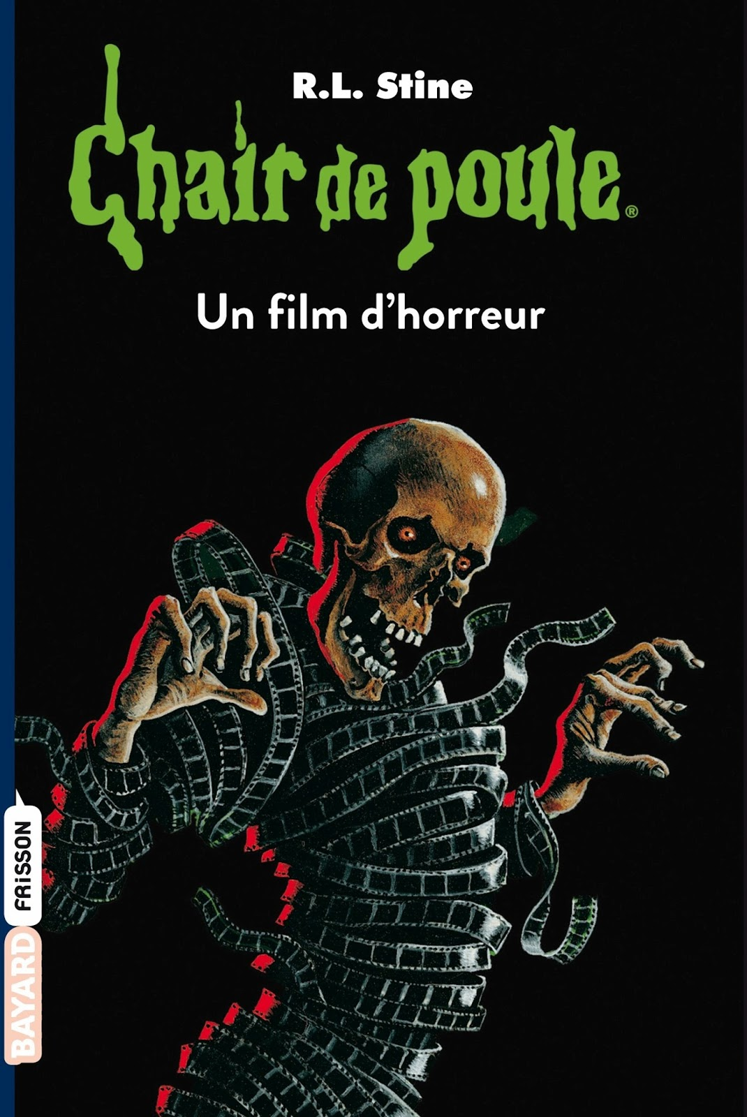 Chair de poule 52 un film d 39 horreur - Personnage film horreur ...