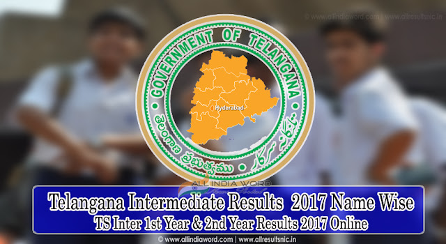 Telangana Inter Results 2017