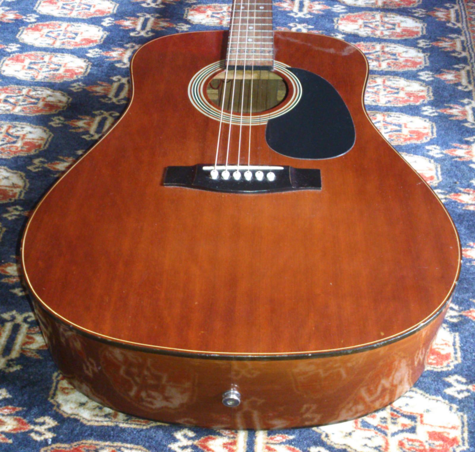 daion guitars down under daion 124en acoustic electric guitar for sale on. Black Bedroom Furniture Sets. Home Design Ideas