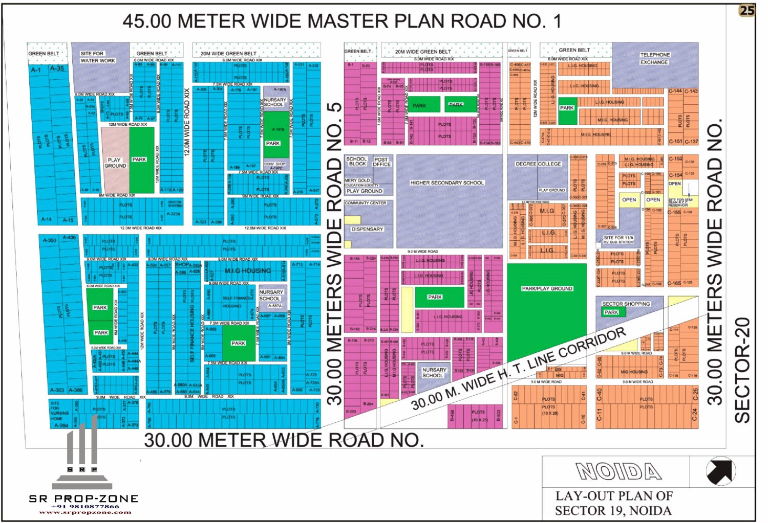 Layout Plan Of Noida Sector