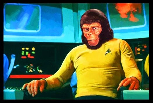 Star trek/Planet of the apes crossover Comic-Con announcement
