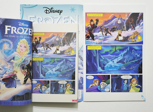Frozen comic