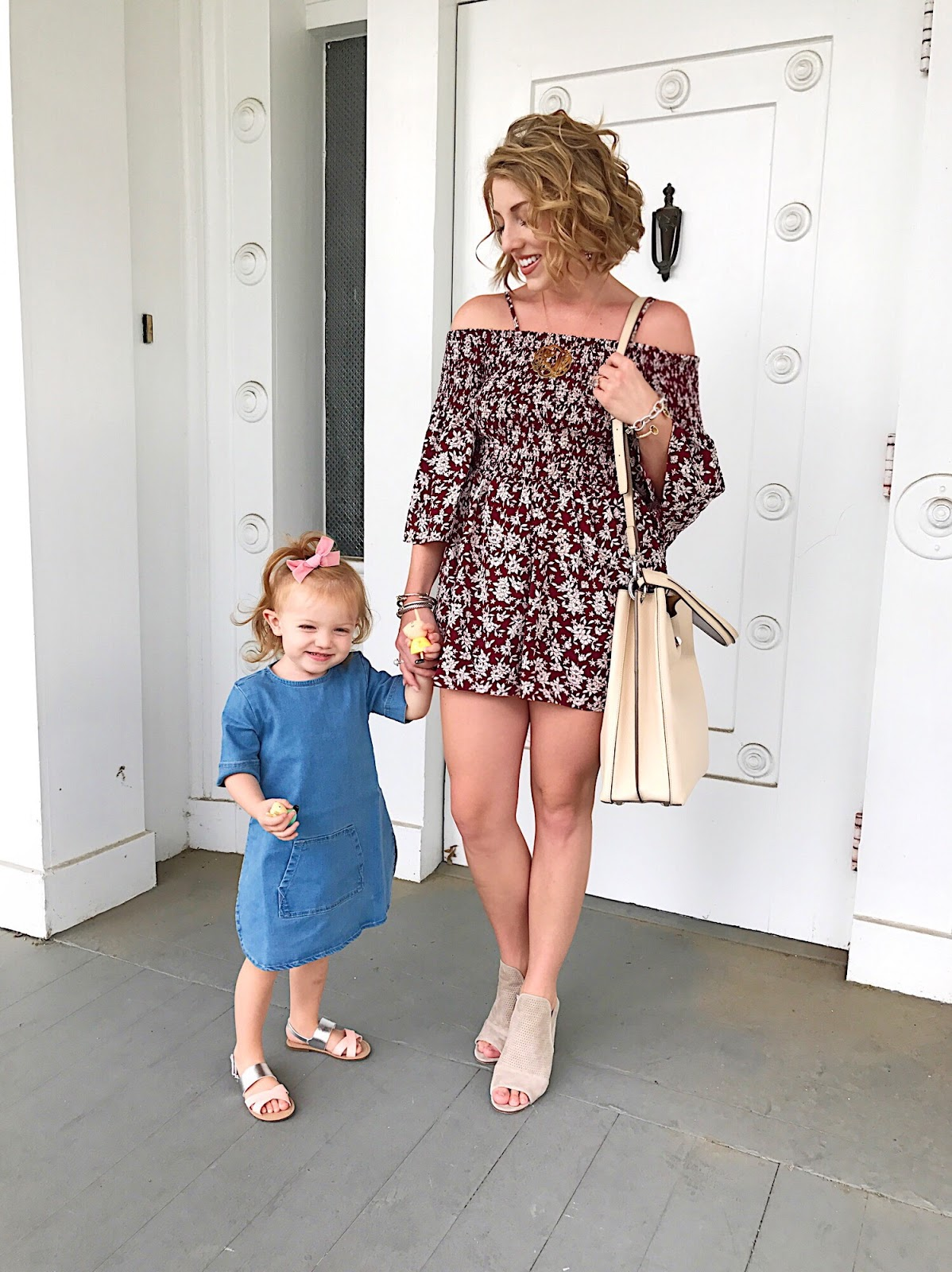 Mommy & Me Outfits - Click through to see more on Something Delightful Blog.
