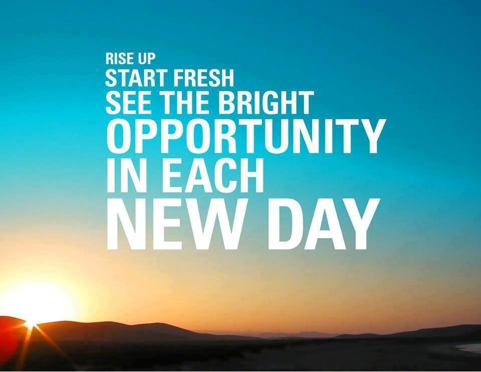 everyday is a new start Every day is a new start 372 likes نتمنى أن تعجبكم صفحتنا الجديدة ونتمنى نجاحها لنبقى معكم في كل لحظة يدا بيدونتمنى أن تصل إلى قلوبكم كما وصلتم إلى.