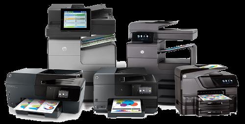 Wie wähle ich meinen Drucker aus?
