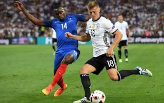 Франция – Германия прямая трансляция онлайн 16/10 в 21:45 МСК.