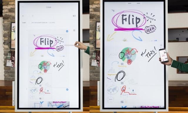 @SamsungSA Flip Connects Creativity and Innovation #DigitalFlipcharts