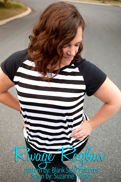 Rivage Raglan sewing pattern by Blank Slate Patterns sewn by Suzanne of Pattern Revolution