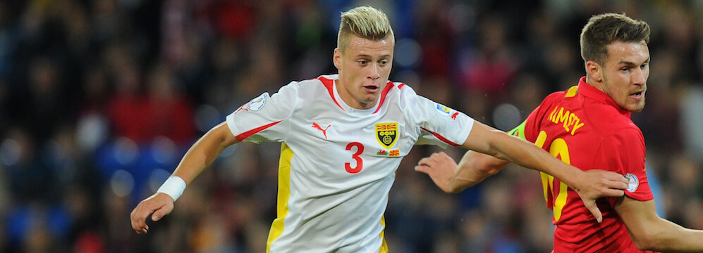 Leeds United Keen On Macedonia International
