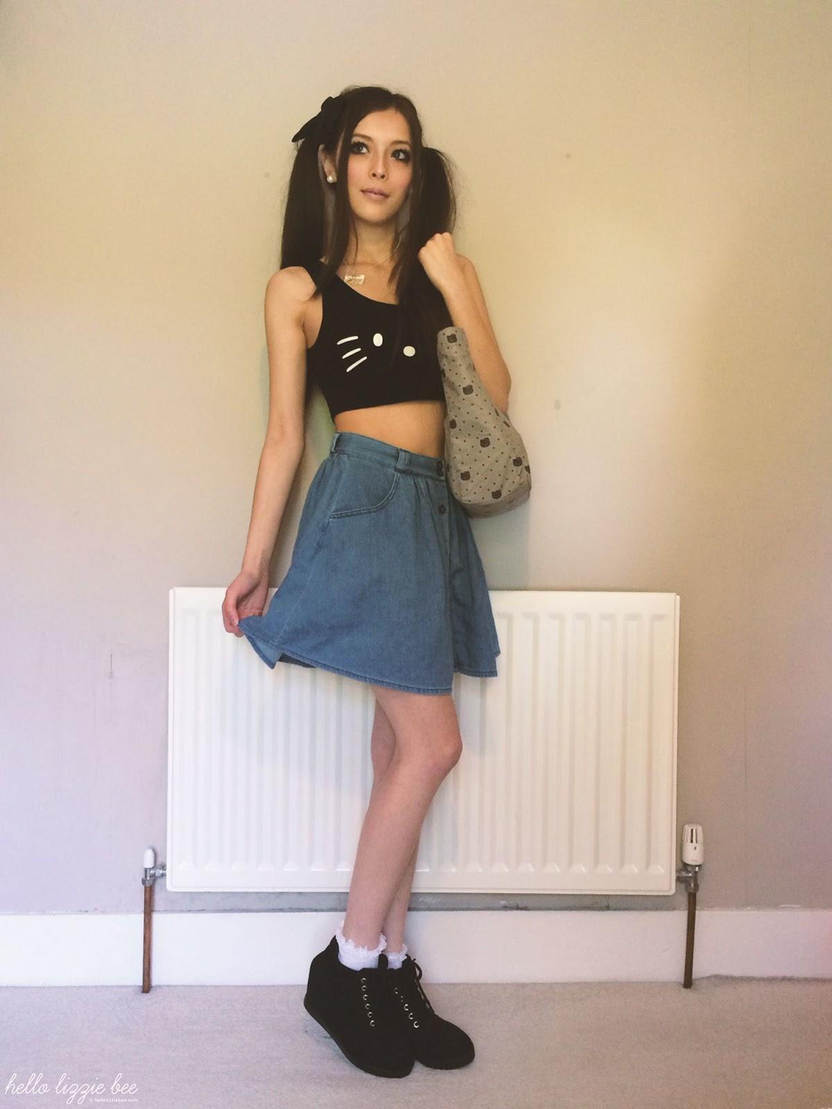 sanrio outfit, jfashion, kawaii fashion