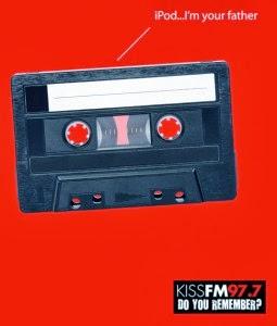 kiss fm 97.7 nostalgic ad
