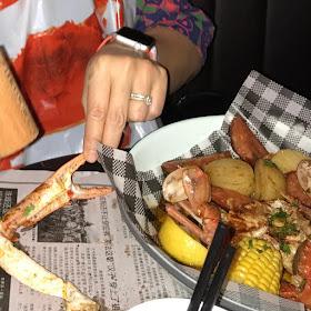 Miss Katie's Crab Shack, Melbourne CBD, crab boil