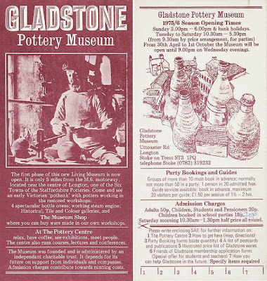 Gladstone Pottery Museum Story History