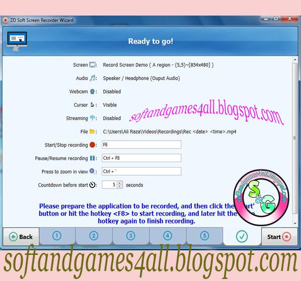 zd soft screen recorder 8.1 serial key