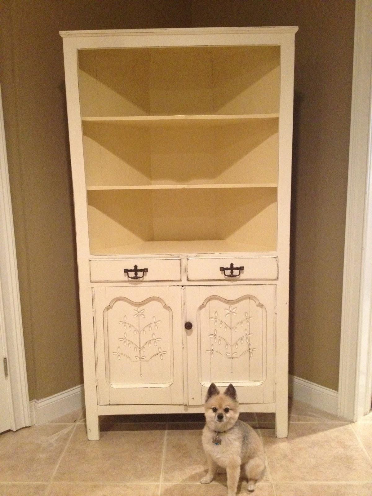 Sensible Redesign Antique Corner Cabinet