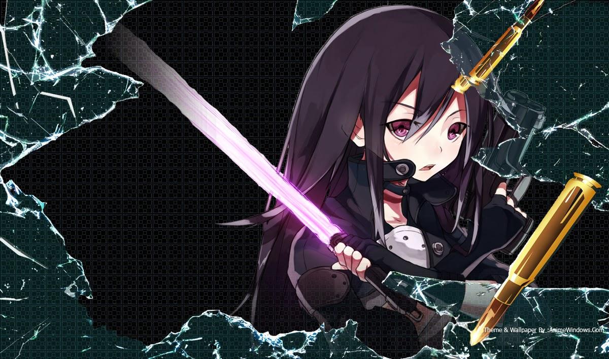 Gun Gale Online Wallpaper Pack | Theme Anime Windows