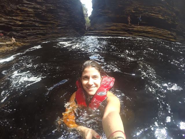 Cachoeira do buracão - Chapada Diamantina