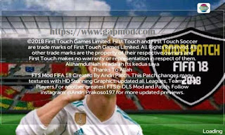 FTS Mod FIFA 18 Full Transfer by Andri Apk + Data Obb